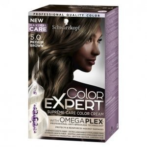 Schwarzkopf Color Expert 5.0 Medium Brown Hiusväri