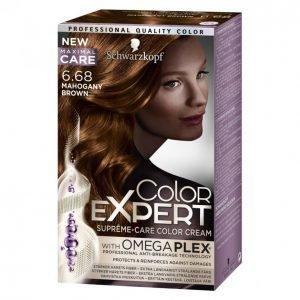 Schwarzkopf Color Expert 6.68 Mahogany Brown Hiusväri