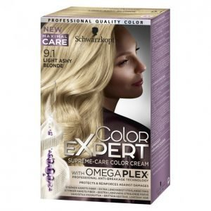 Schwarzkopf Color Expert 9.1 Light Ashy Blonde Hiusväri