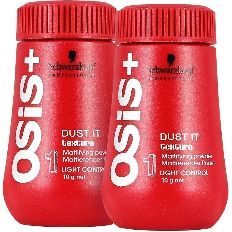 Schwarzkopf Dust It Duo 2 x Matifying Powder 10g