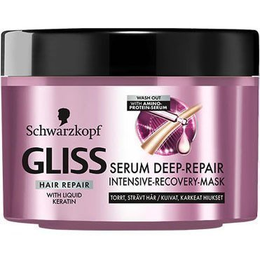 Schwarzkopf Gliss Hair Repair Serum Deep-Repair Intesive Recovery Mask