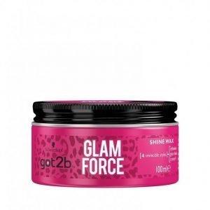 Schwarzkopf Got2b Glam Force Wax 100 Ml Hiusvaha