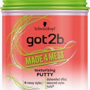 Schwarzkopf Got2b Made4mess Texturizing Putty 100 Ml