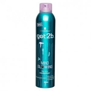 Schwarzkopf Got2b Mind Blowing Fast Hiuskiinne 300ml