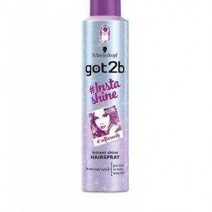 Schwarzkopf Got2b #insta Shine Hair Spray 300ml Hiussuihke