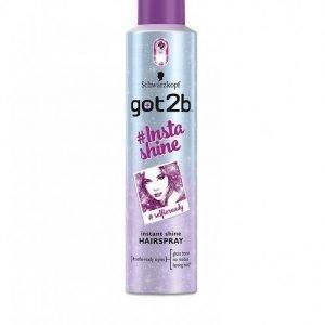 Schwarzkopf Got2b #insta Shine Hair Spray 300ml Hiussuihke