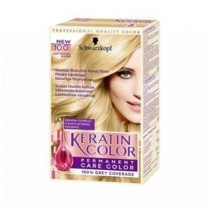 Schwarzkopf Keratin Color 10.0 Natural Blonde Hiusväri