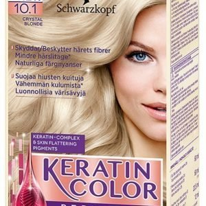 Schwarzkopf Keratin Color 10.1 Crystal Blonde Hiusväri