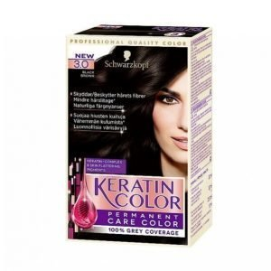 Schwarzkopf Keratin Color 3.0 Black Brown Hiusväri
