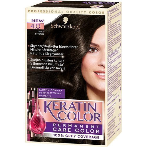 Schwarzkopf Keratin Color 4.0 Dark Brown
