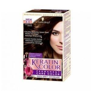 Schwarzkopf Keratin Color 4.6 Choco Brown Hiusväri