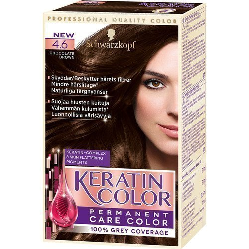 Schwarzkopf Keratin Color 4.6 Chocolate Brown