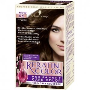 Schwarzkopf Keratin Color 4.60 Chocolate Brown Kestoväri