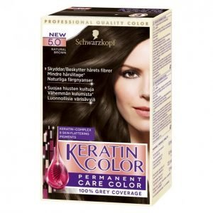 Schwarzkopf Keratin Color 5.0 Natural Brown Kestoväri