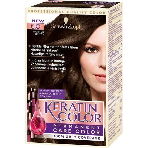 Schwarzkopf Keratin Color 5.0 Natural Brown