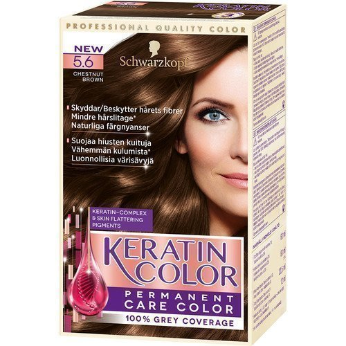 Schwarzkopf Keratin Color 5.6 Chestnut Brown