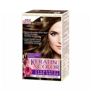 Schwarzkopf Keratin Color 6.0 Light Brown Hiusväri