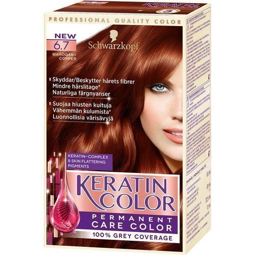Schwarzkopf Keratin Color 6.7 Mahogany Copper