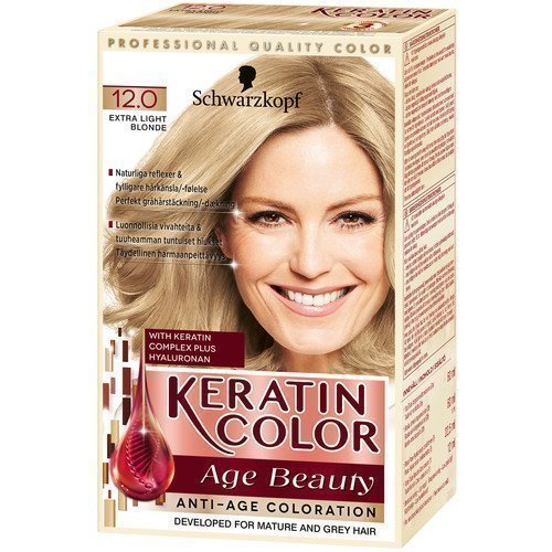Schwarzkopf Keratin Color Age Beauty 12.0 Extra Light Blond
