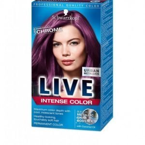 Schwarzkopf Live Color Urban Metallics Hiusväri Amethyst Chrome