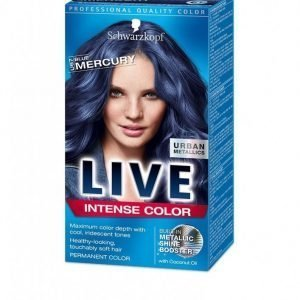 Schwarzkopf Live Color Urban Metallics Hiusväri Blue Mercury