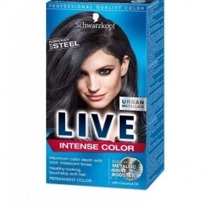 Schwarzkopf Live Color Urban Metallics Hiusväri Smokey Steel