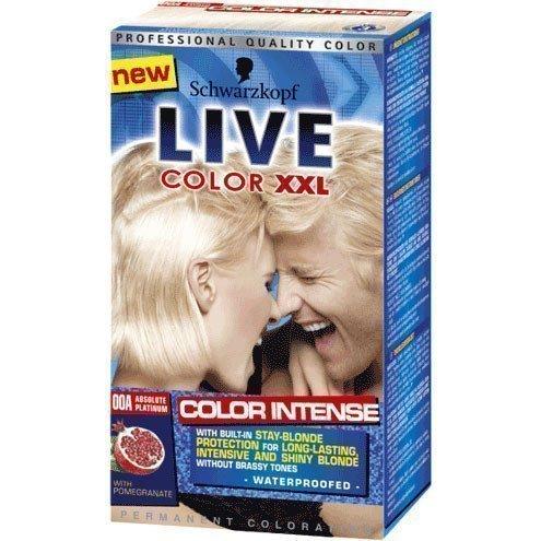 Schwarzkopf Live Color XXL 00A Absolute Platinum