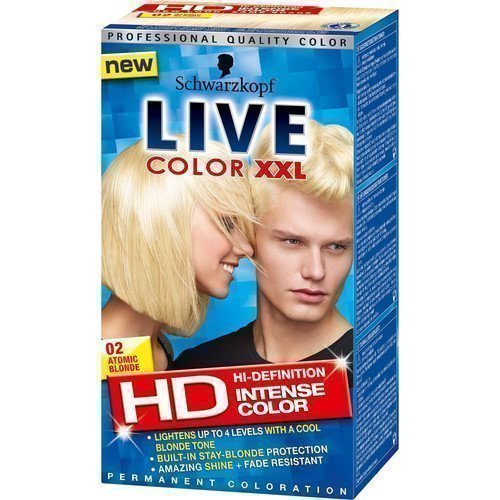 Schwarzkopf Live Color XXL 02 Atomic Blonde