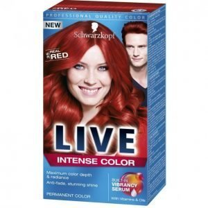 Schwarzkopf Live Color Xxl 35 Real Red Kestoväri