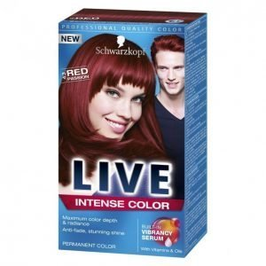 Schwarzkopf Live Color Xxl 43 Hypnotic Red Kestoväri