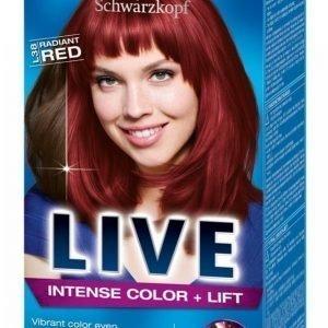 Schwarzkopf Live L38 Radiant Red Hiusväri