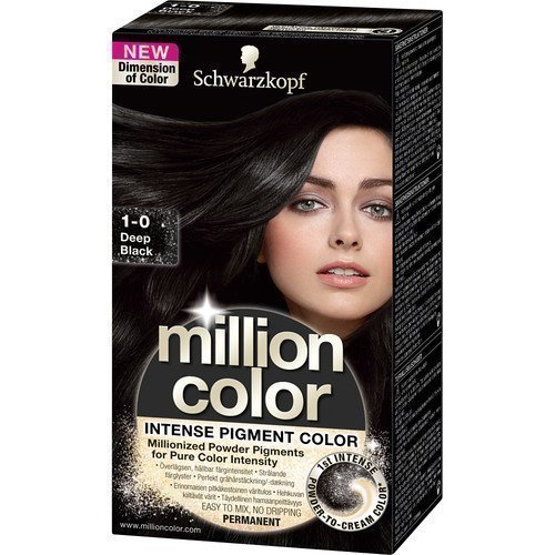 Schwarzkopf Million Color 1-0 Deep Black