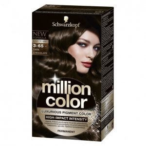 Schwarzkopf Million Color 3-65 Dark Chocolate Kestoväri
