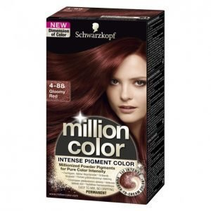 Schwarzkopf Million Color 4-88 Gloomy Red Kestoväri