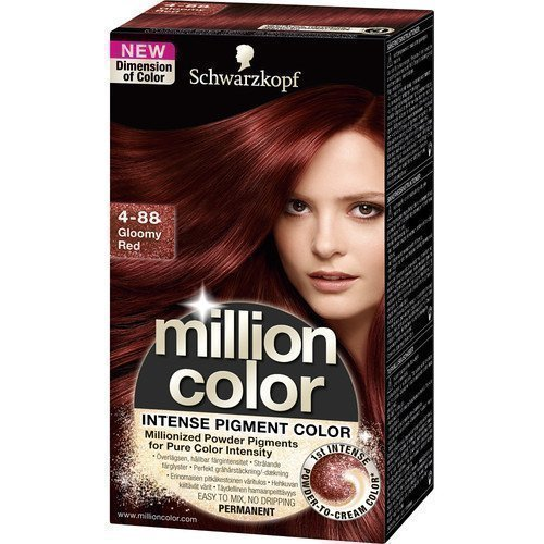 Schwarzkopf Million Color 4-88 Rich Gloomy Red