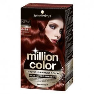 Schwarzkopf Million Color 6-88 Cashmer Red Kestoväri