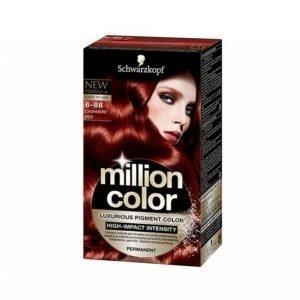Schwarzkopf Million Color 6.88 Cashmer Red Hiusväri