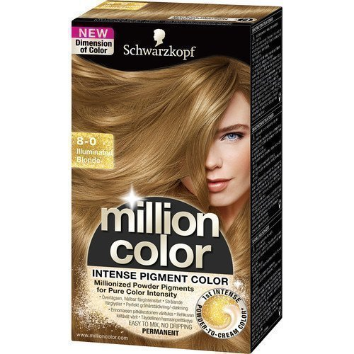 Schwarzkopf Million Color 8-0 Illuminated Blonde
