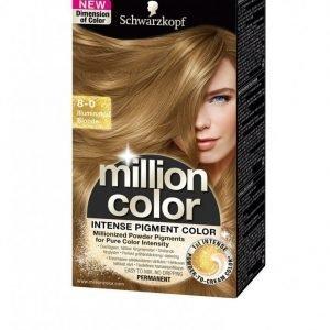 Schwarzkopf Million Color Hiusväri Illuminated Blonde
