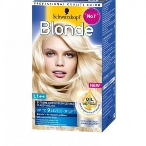 Schwarzkopf Poly Blonde Hiusväri L1++ Extr Strong Lightener