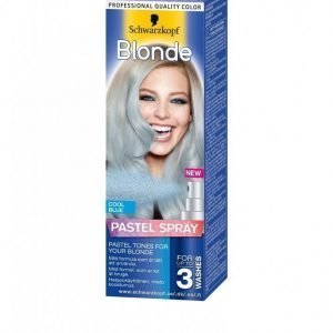 Schwarzkopf Poly Blonde Spray 125 Ml Hiusväri Baby Blue