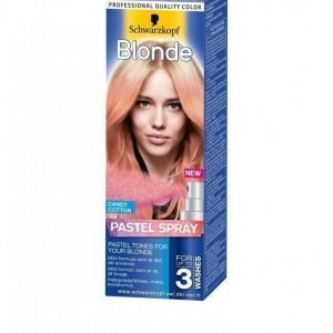 Schwarzkopf Poly Blonde Spray 125 Ml Hiusväri Cotton Candy