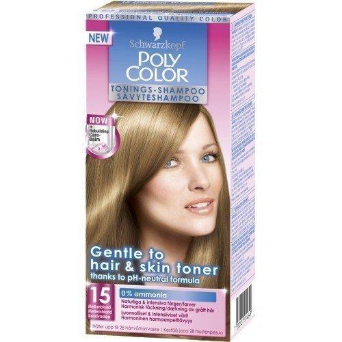 Schwarzkopf Poly Color Toning Shampoo 15 Mediumblonde