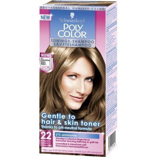 Schwarzkopf Poly Color Toning Shampoo 22 Darkblonde