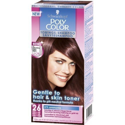 Schwarzkopf Poly Color Toning Shampoo 26 Dark Mahogany