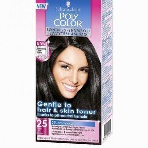 Schwarzkopf Poly Color Toning Shampoo Sävyteshampoo Black