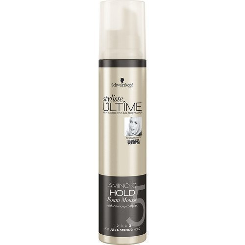 Schwarzkopf Styliste Ultime Amino-Q Hold Foam Mousse