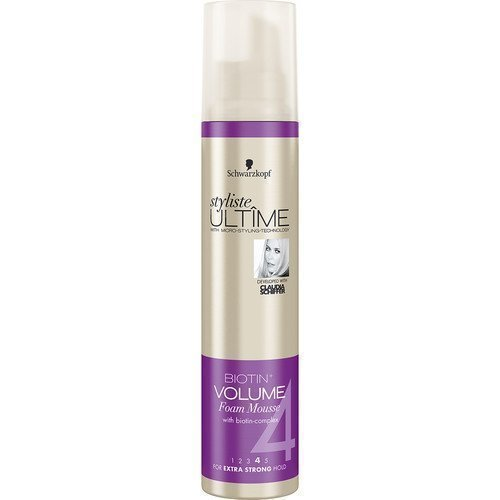 Schwarzkopf Styliste Ultime Biotin + Volume Foam Mousse