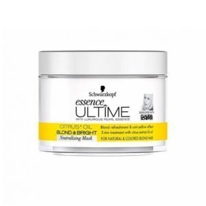Schwarzkopf Ultime Blond & Bright Mask 200 Ml