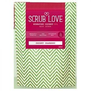 Scrub Love Coconut Body Scrub Coconut Cranberry